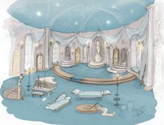 """animateglee: """"Citing the HP Celebration and the encouragement of house pride posts this weekend, some newly made Ravenclaw common room concept art. """" What a stunning submission! Arte Do Harry Potter, Harry Potter Love, Harry Potter Universal, Harry Potter World, Harry Potter Memes, Ravenclaw, Hogwarts Mystery, Hogwarts Houses, Fantastic Beasts And Where"""