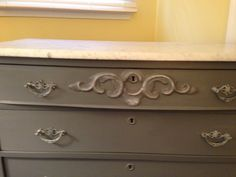 Antique marble top dresser.  Distressed with original hardware.    https://www.facebook.com/alwaystimeless