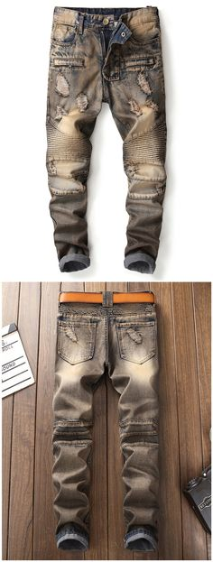 mens jeans brands -- Click Visit link above to see Ripped Jeans Outfit, Black Ripped Jeans, Casual Jeans, Men's Jeans, Urban Fashion, Mens Fashion, How To Wear Sneakers, Shoes With Jeans, Urban Outfits