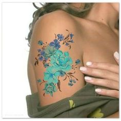 forget-me-not tattoo - Google Search by DeeDeeBean
