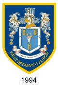 west bromwich albion crest 1994