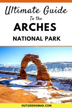 Are you looking to visit Arches National Park in Utah and wondering what should I wear to Arches National Park? Or maybe what should I bring to National Parks? We were recently in Moab and I was looking for information such as does it snow at Arch Us National Parks, Zion National Park, Yellowstone National Park, Get Outdoors, The Great Outdoors, Moab Utah, Utah Usa, Travel Usa, Travel Tips