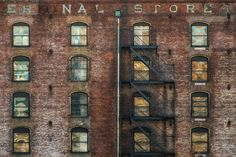 """Terminal Store - Somewhere while walking on the """"high line"""" on the 1st day of the year."""