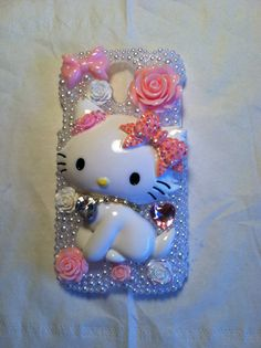Charmmy Kitty Galaxy s4 phone case from my shop on Etsy- Cherbearphonecases