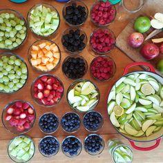 weekly clean eating weekly fruit prep ideas http://cleanfoodcrush.com/fruit-prep/