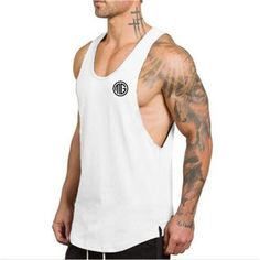 7e63c514e Summer Cotton Tank Tops. Camisetas Regatas MasculinasRegata ...