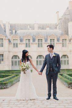 Wedding Venue + Catering: Hotel d'Aubusson in Paris, France / Wedding Planning: Alliance Par Fête