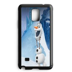 Olaf Frozen Summer Samsung Galaxy Note 5 Case