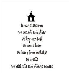 Classroom Rules :)