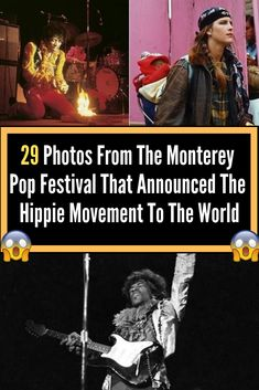 29 Photos From The Monterey Pop Festival That Announced The Hippie Movement To The World Fun Facts Scary, Bizarre Facts, Weird Facts, Fun Facts About Love, Love Facts, Monterey Pop Festival, Hippie Movement, Bizarre Pictures, Facts You Didnt Know