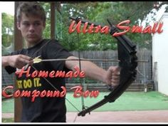 How To Make An Ultra Compact Compound Bow, Center Shot