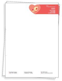 Dein Unternehmensdesign auf deinem selbst gestalteten Briefpapier! #onlineprintxxl #briefpapier #writingpaper #unternehmensdesign #corporatedesign