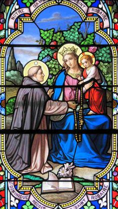 St Dominic of the Rosary