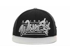 new concept 70e9f 04c16 New Era MLB Chicago White Sox Snapback Hats Caps Black Gray 3362! 8.90USD  Wholesale