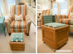 Rx Reveal: Harwood family room Room RxDark & Dreary to light & bright