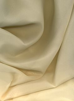 "Cream 118"" Wide Sheer Voile - From $3.99 Per Yard"