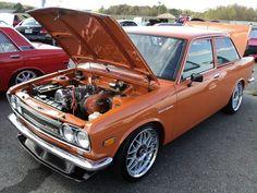 Datsun 510 #datsun #510 #nissan #oldschooljdm #jdm #braggenrites