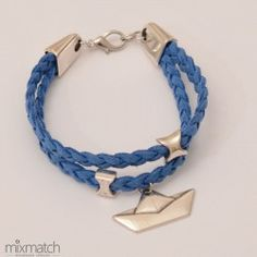 blue Pond Cord Bracelets, Spring Summer 2015, Pond, Blue, Jewelry, Fashion, Moda, Water Pond, Jewlery