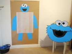 Cookie Monster Birthday Party Ideas | Photo 1 of 53 | Catch My Party
