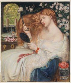 Dante Gabriel Rossetti (British, 1818). Lady Lilith, 1867. The Metropolitan Museum of Art, New York. Rogers Fund, 1908 (08.162.1)