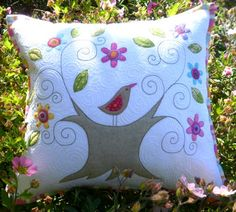 Wish You Were Here Pillow Cover Pattern - Click Image to Close