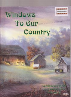 peinture Windows to Your Country - nadieshda gisela - Picasa Web Albums...ONLINE PAINTING BOOK, PATTERNS AND INSTRUCTIONS!