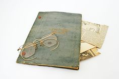 Vintage Paper Ephemera, Newspaper Clippings, Letters, Genealogy, Scrapbook