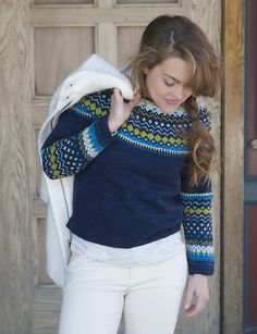 Ravelry: Bridget Pullover pattern by Michele Rose Orne