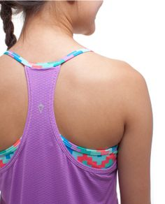 Exceed your athletic goals in this sweat-wicking, double layer tank | Double Dutch Tank