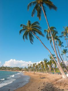 Anaeho'Omalu Beach, Kohala Coast, Hawaii. The Big Island of Hawaii. #beach #kohala #hawaii