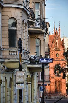 Bydgoszcz, Poland, View from Mostowa Street