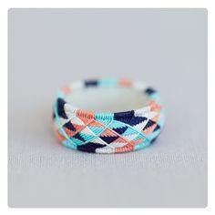 Vogel ► Ring, Textil, Baumwolle, Japan, Geometrie von nadelkunst auf DaWanda.com