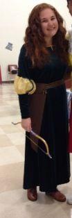 Princess Merida Costume Entry