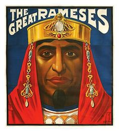 RAMESES-A most outstanding and VERY RARE MAGIC poster | eBay