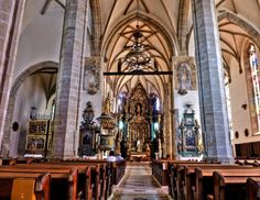Gothic-style Co-Cathedral of Saint Nicholas, Prešov, Prešov region, Slovakia Stuff To Do, Things To Do, Saint Nicholas, Great Pictures, Cathedral, Places To Visit, Castle, Europe, Vacation Travel