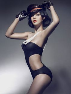 Chinese pin-up? Either way it is really well done.