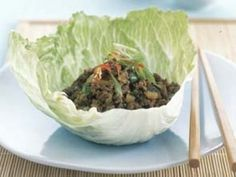 Looking for a delicious and healthy Beef San Choy Bao Recipe? Find out all the ingredients, cooking time, techniques and tips on how to perfectly cook your favourite meal from the experts at Australian Beef. Healthy Beef Recipes, Mince Recipes, High Protein Recipes, Pork Recipes, San Choy Bow Recipe, Australian Beef, Beef Fajitas, Food To Make, Easy Meals