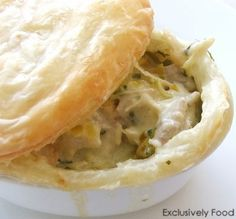 Individual Fish Pies Recipe, you will need a conversion table for this recipe...it's worth it!