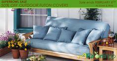 Outdoor Futon Covers | Outdoor Futon