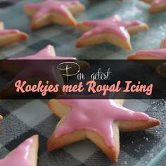 Koekjes versieren met zelfgemaakte royal icing