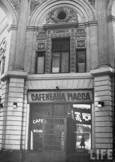 Bucureşti 1940 4 Bucharest, My Memory, Time Travel, Broadway Shows, Architecture, Classic, Life, Memories, Traveling