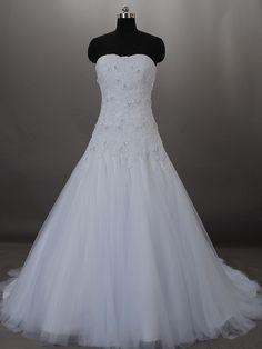 A-line satin/tulle wedding dress ball gowns Bridesmaid Dress Evening Prom Dress.
