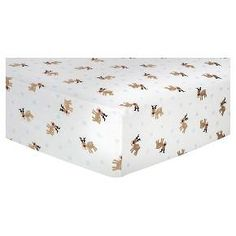 $20 Christmas Crib Sheets - want 3 Trend Lab Deluxe Flannel Fitted Crib Sheets are cozy and stylish. Our soft 100% cotton flannel Reindeer crib sheet features a reindeer and snowflake scatter print in browns, blue, red, and white. Our deluxe 10 inch deep pockets and full length elastic offers a more secure fit on standard 28 inch x 52 inch crib mattresses. Sheets are machine washable. Additional colors, prints and Deluxe Flannel products from Trend Lab are sold separately.