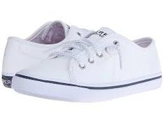 Image result for white leather sperrys