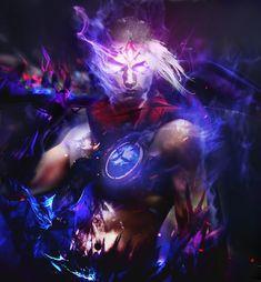 Varus - League of Legends, Patrick Belfiore on ArtStation at https://www.artstation.com/artwork/n5lZX