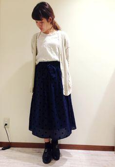ガーゼ素材のドットスカート♪ | アトレ川崎店 | POU DOU DOU ショップブログ