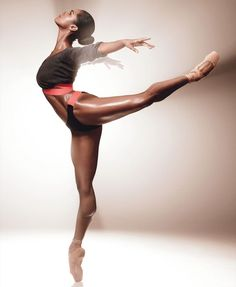 """Ballet....something pure in this crazy world"" --Misty Copeland"