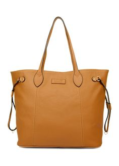 Louis Italian Leather Handbags - 8220-60-Yellow-Louis Sacred Italy Cow Leather  Tote Bag 11c7e525307