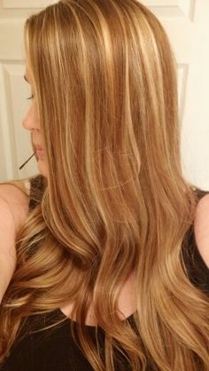 Honey golden blonde fall blonde dark blonde