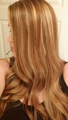 Honey golden blonde fall blonde dark blonde